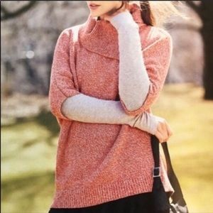 CAbi #3011 Oversized Foldover Split Cowl Sweater